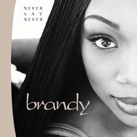 picture of the album Never Say Never by Brandy