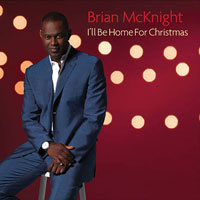 picture of the album I'll Be Home For Christmas by Brian McKnight