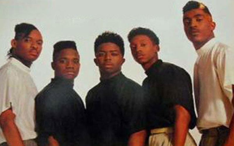 Photo of 90's R&B artist Troop