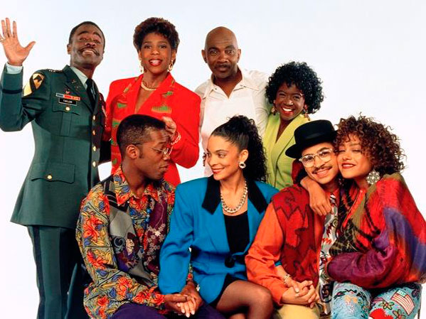 cast photo the television show A Different World