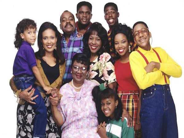 cast photo the television show Family Matters