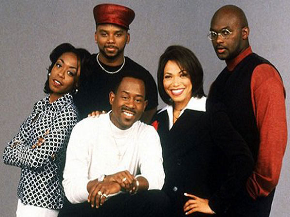 cast photo the television show Martin