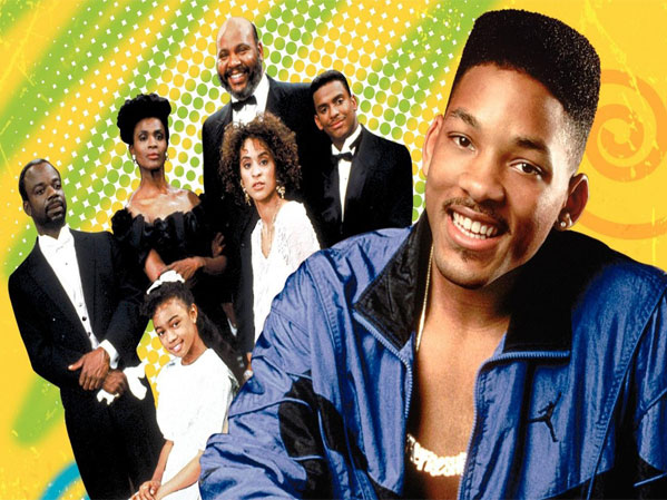 cast photo the television show The Fresh Prince Of Bel-air
