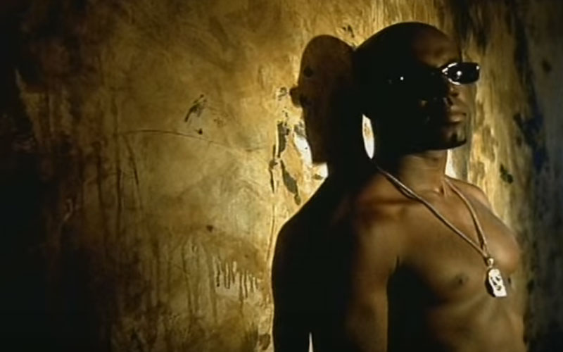Image still of the music video all the place (I will Kiss You) by aaron hall