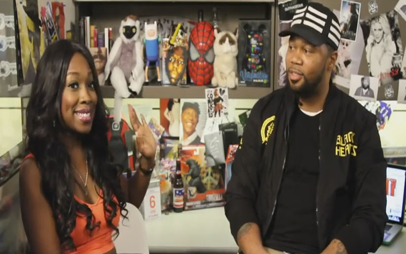 Photo still of the video Kameelah Williams Talks 702 Break Up