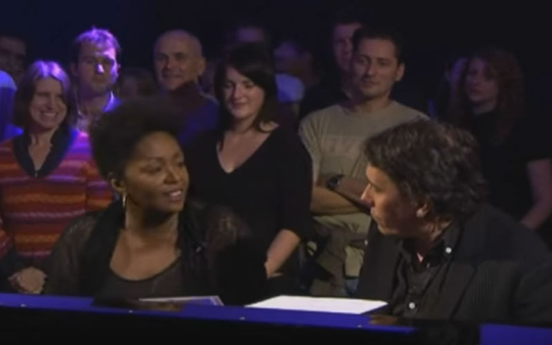 Image still of the music video interview with jools holland by anita baker