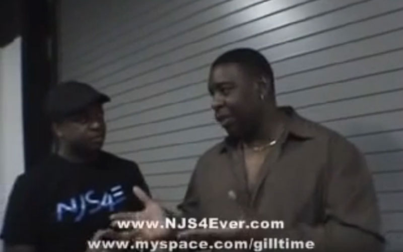 Image still of the music video NJS4Ever interviews Randy Gill by II D Extreme