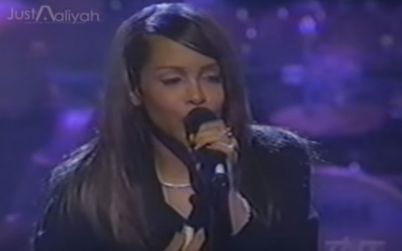 Image still of the music video the one i gave my hear to (LIVE) by aaliyah