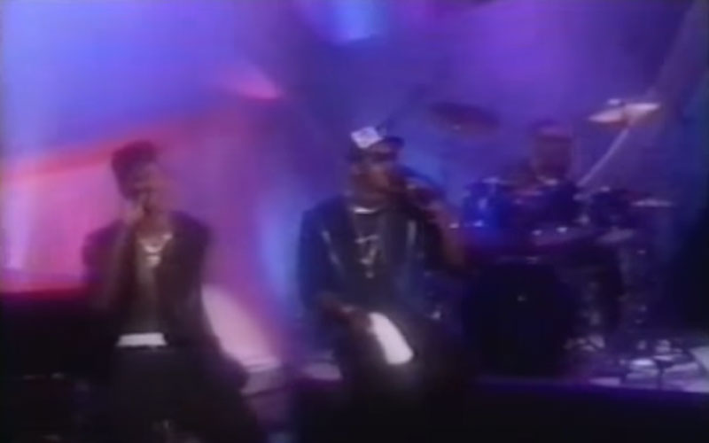 Image still of the music video lately (LIVE on Arsenio Hall) by jodeci