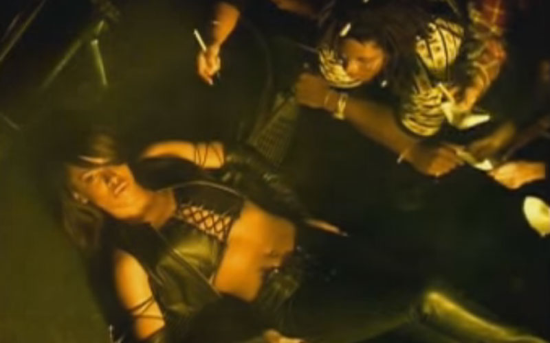 Image still of the music video One In A Million by aaliyah