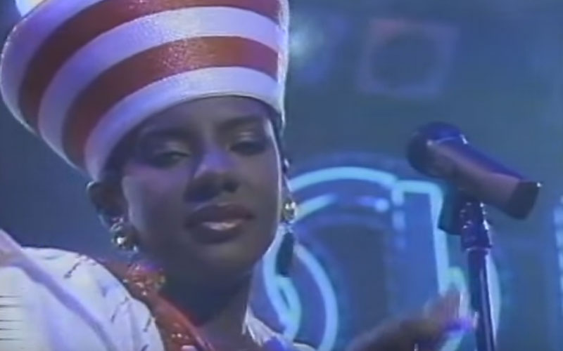 Image still of the music video Just Call My Name (Soul Train) by alyson williams
