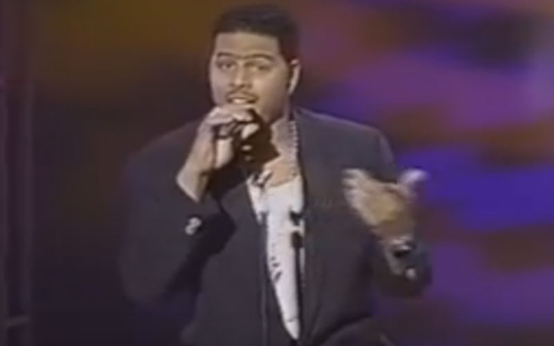 Image still of the music video Right now (LIVE) by al b. sure!