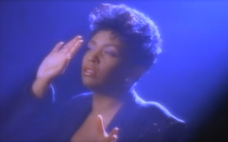 Image still of the music video talk to me by anita baker