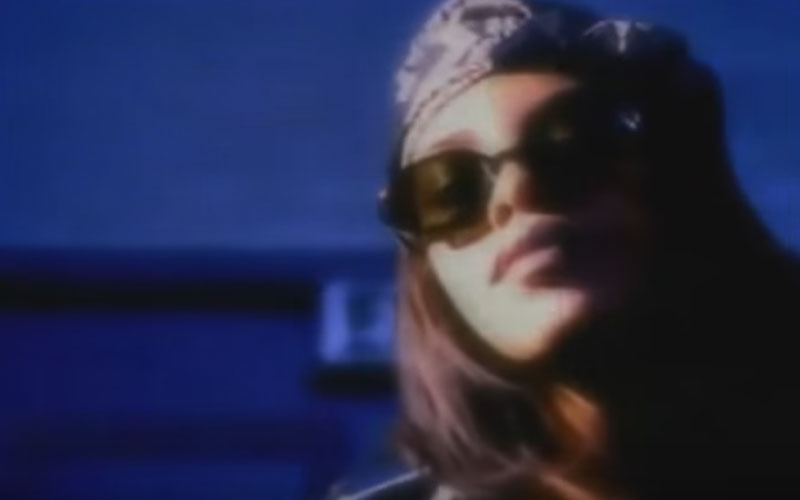 Image still of the music video back & forth by aaliyah