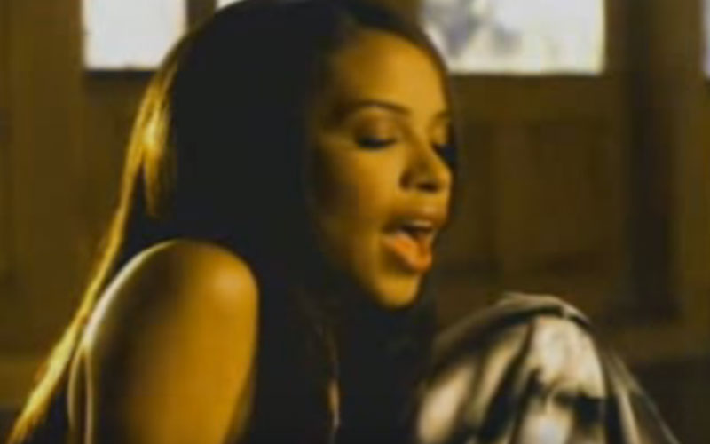 Image still of the music video the one i gave my heart to by aaliyah