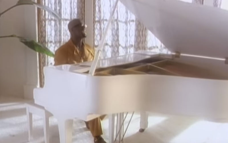 Image still of the music video when you need me by aaron hall