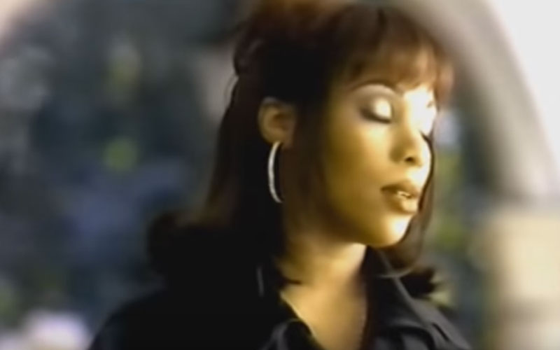 Image still of the music video it's all about you by adina howard